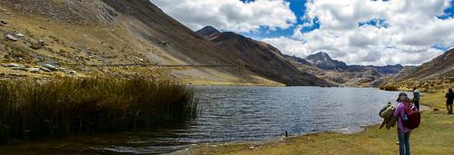 peru panoramic laguna junin