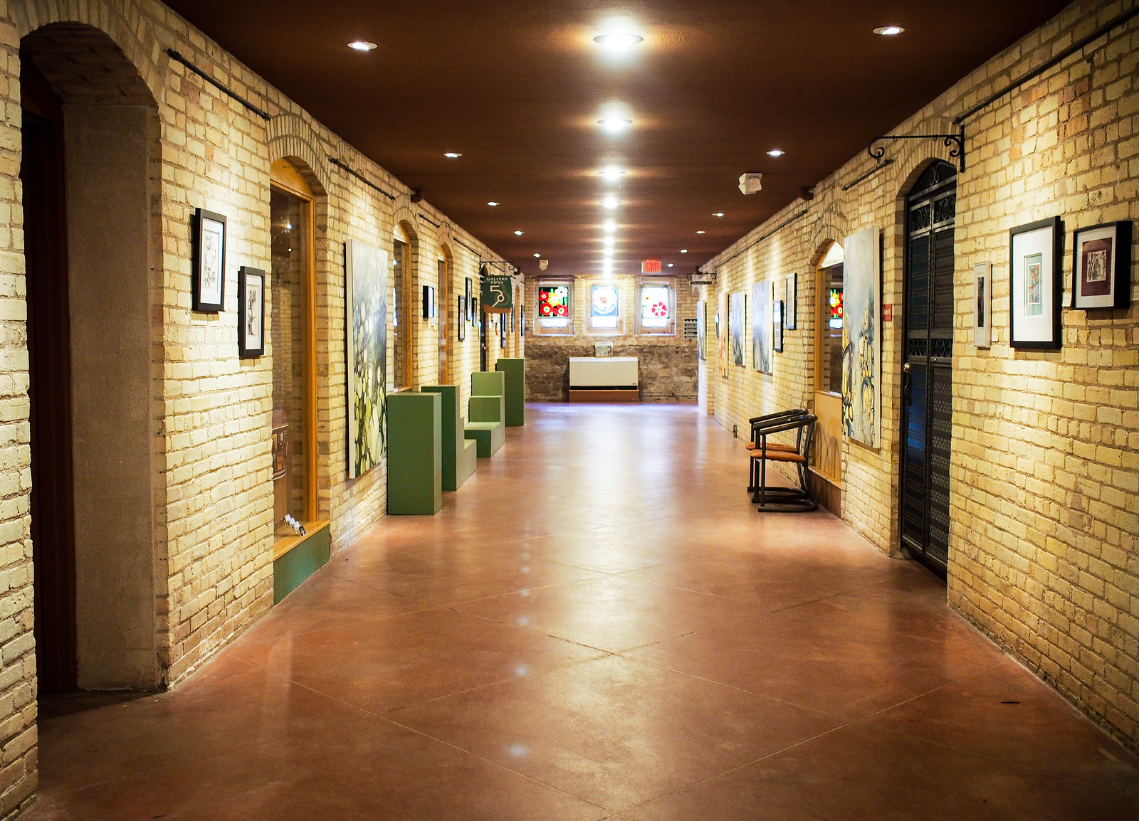 Grand Traverse Commons basement