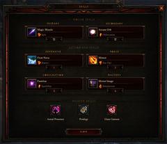 Diablo 3 - Skills