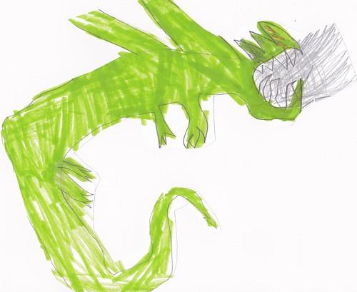 Green dragon Asher 7