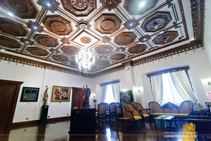 Main Exhibit Hall at Hotel Luna in Vigan