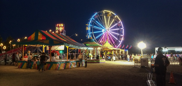 Ferris Wheel at the Yavapai County Fair 2