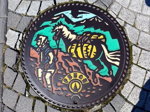 Ina Nagano, manhole cover (長野県伊那市のマンホール)