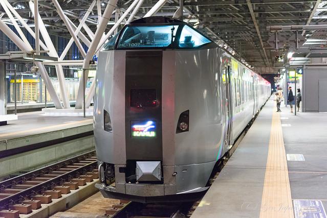 旭川駅 スーパーカムイ