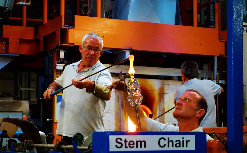 Making Waterford Crystal