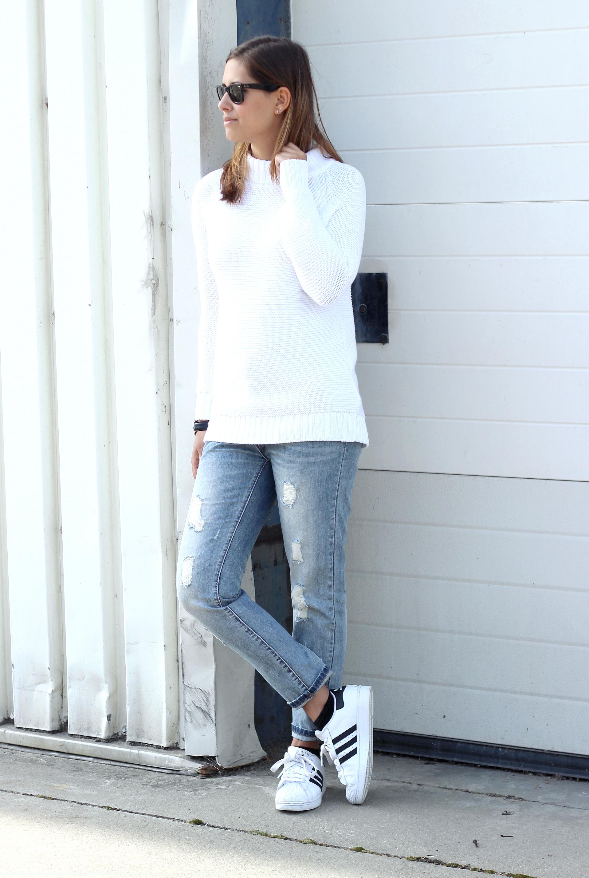 Adidas Superstar White Outfits frankluckham.co.uk