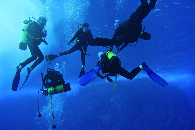 Scuba diving in Easter Island
