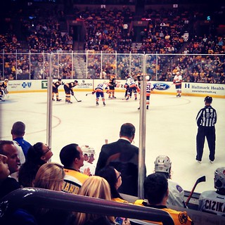 Bruins vs Islanders #NHLBruins #preseason #hockey #bruins #beantown #TheGarden