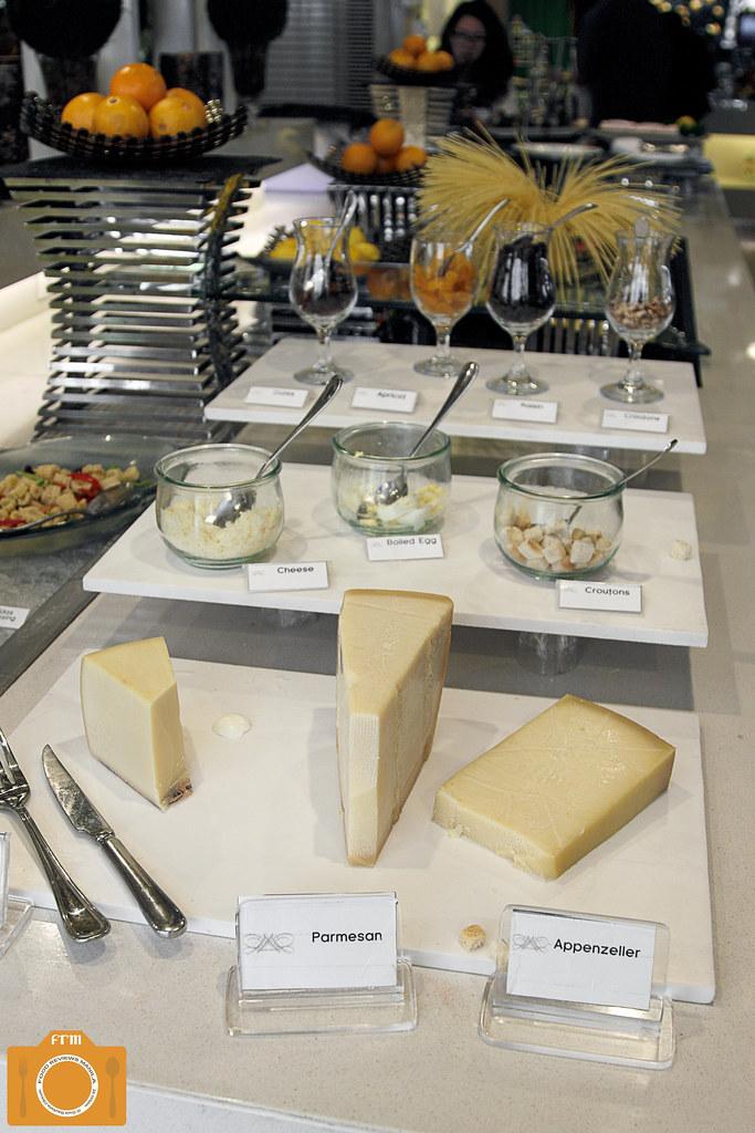 Sabroso cheese station