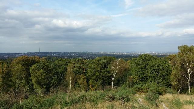 London from the Addington Hills viewpoint #LondonLOOP #sh