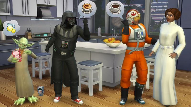 The Sims 4 เพิ่มชุด Star Wars Costumes
