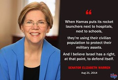 Sen. Elizabeth Warren on Hamas War Crimes