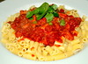 Tripe with Chorizo, Bacon, Tomato Passata & Pasta