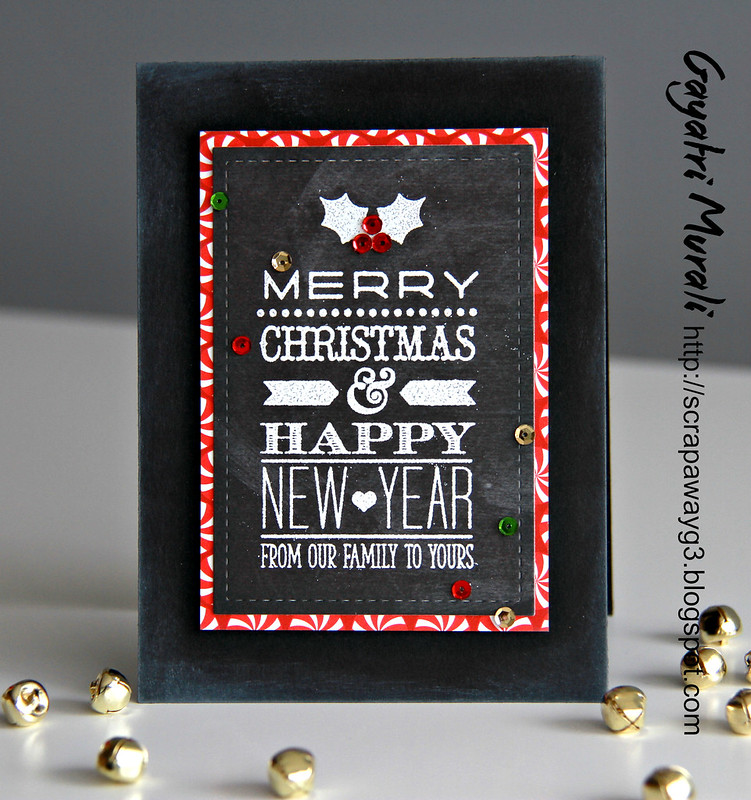 Chalkboard christmas card1