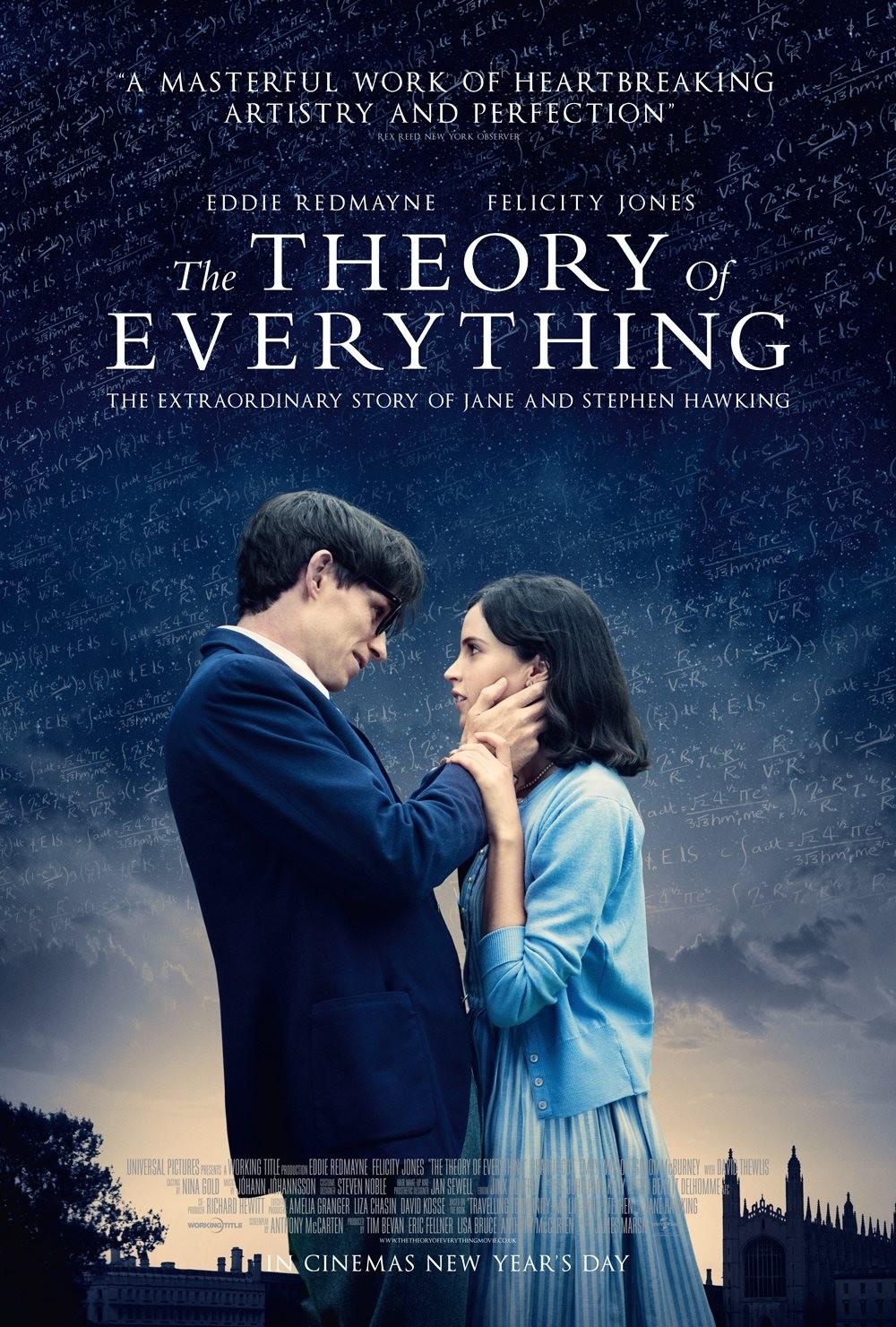 "Segundo trailer de "" The Theory of Everything """
