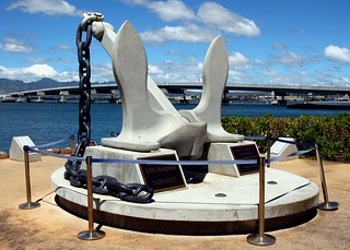 Kuva USS Arizona Anchor. arizona island hawaii harbor is oahu historic anchor what historical hi pearl honolulu weigh uss artifacts hnl bb39 konomark