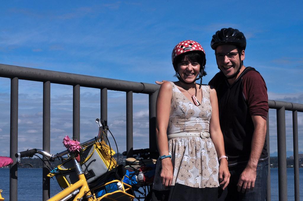 Bike Camping Silliness