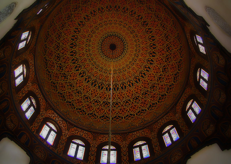 Intricate Design At al-Azhar Mosque 2