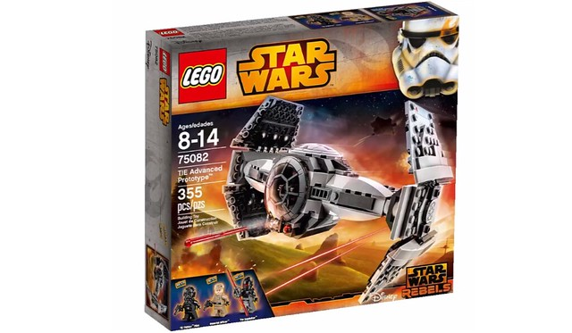 LEGO Star Wars 75082 - TIE Advanced Prototype