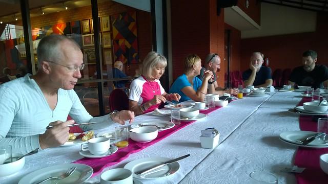 Kathmandu farewell breakfast