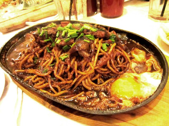 Jack Pork Sizzling pork belly noodles