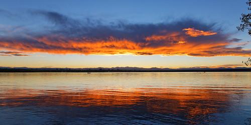 sunset usa lake colorado reservoir aurora allrightsreserved cheerycreekstatepark ef24105mmf4lis copyright2014davidcstephens 10042014 dxoopticspro95 z5a1034dxosrgb
