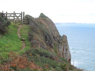 14 10 04 Day 12 3 Tregardock Cliff (1)