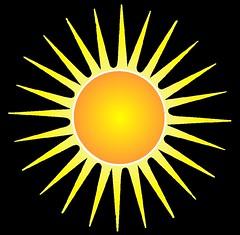 Stylistic Sun