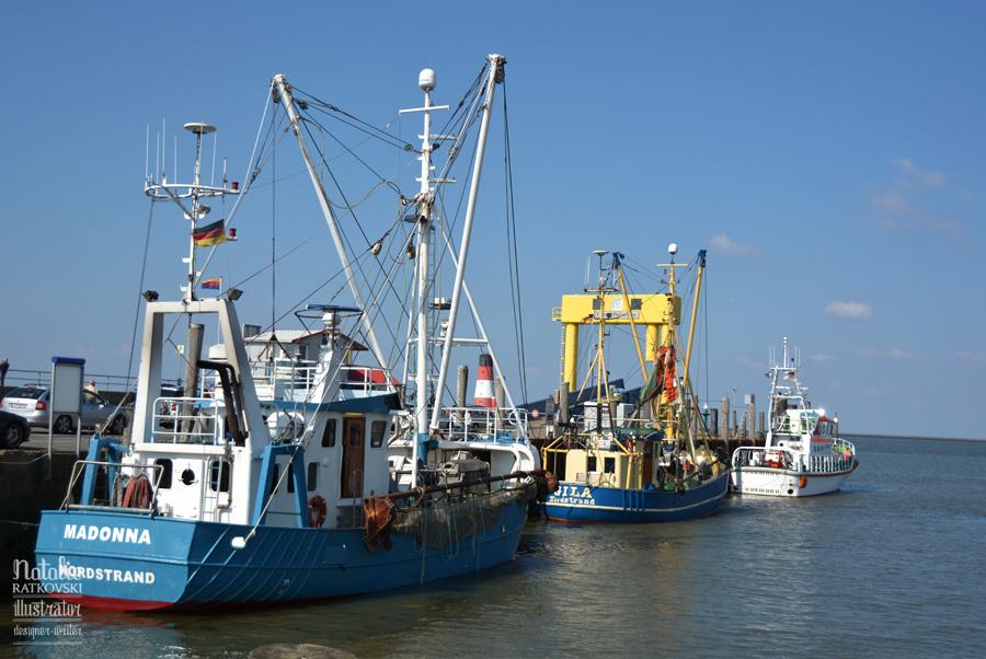 Husum, North Sea