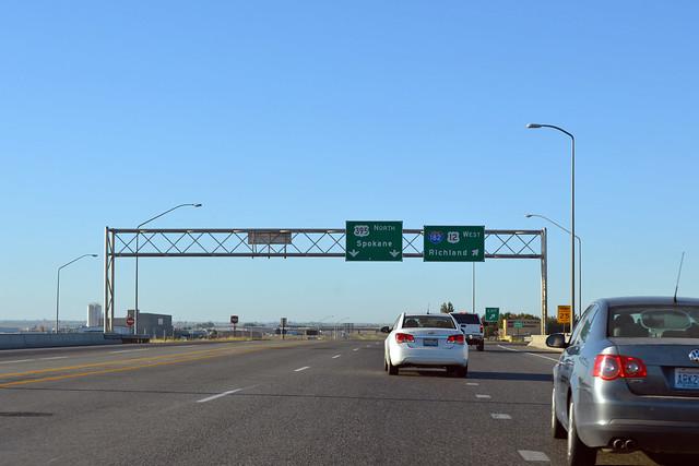 US 395 @ I-182 east terminus & SR 397