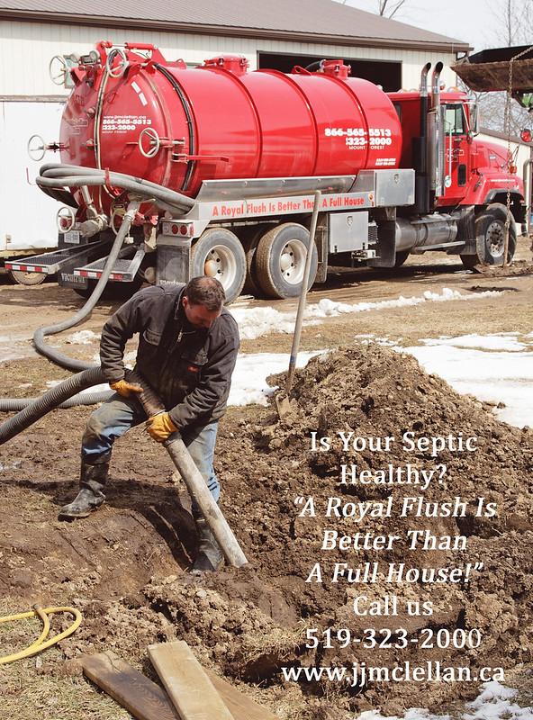 Septic Pumping - Royal Flush Is Better Than A Full House - Advert