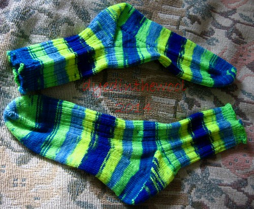 neon time traveller socks fo1
