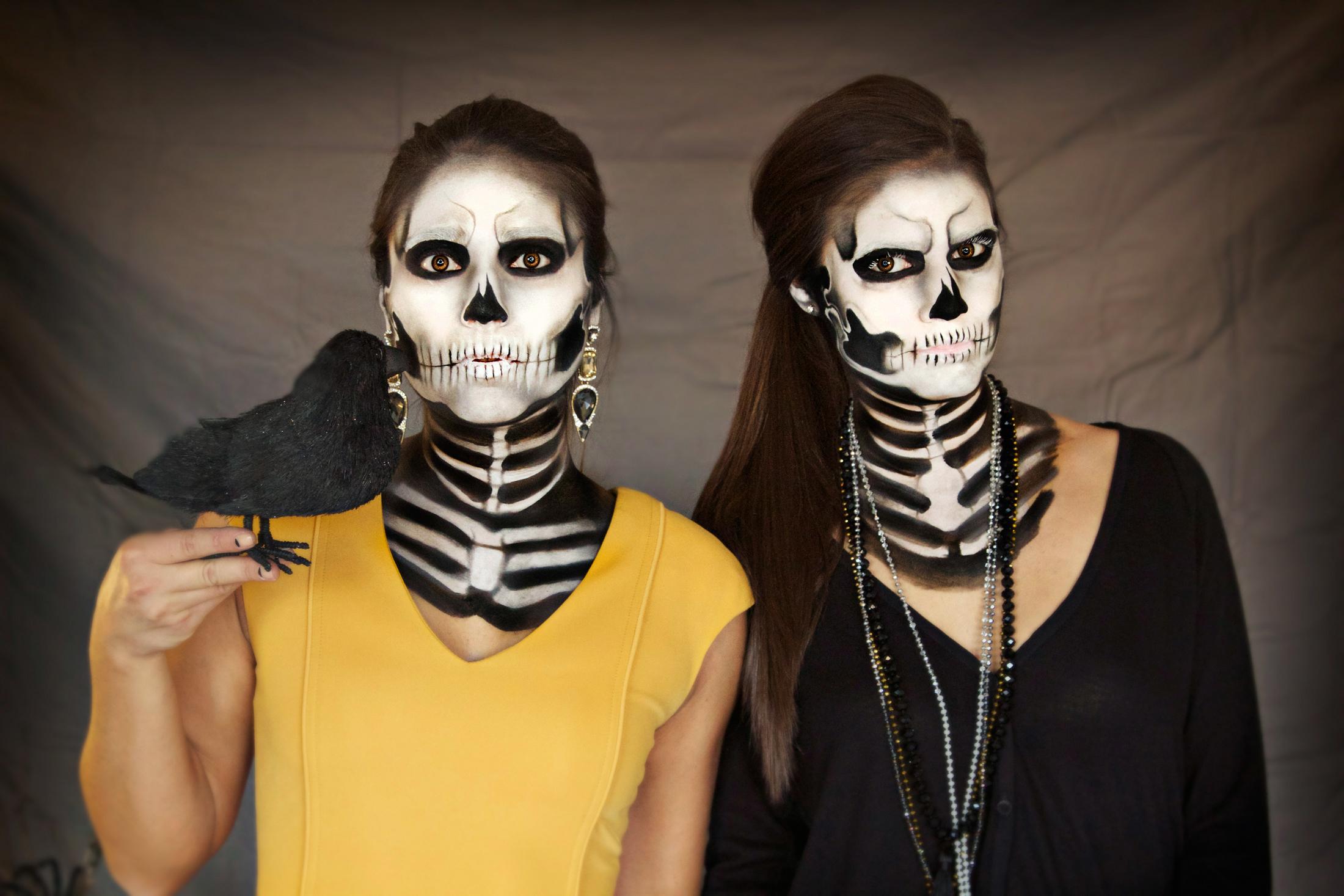 women s creepy twin sister costume halloween lookbook generation bliss