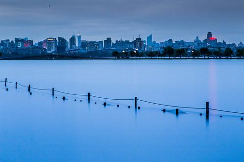 china sunrise westlake hangzhou bluehour xihu