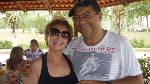 Nely Godinho e Roberto Branco