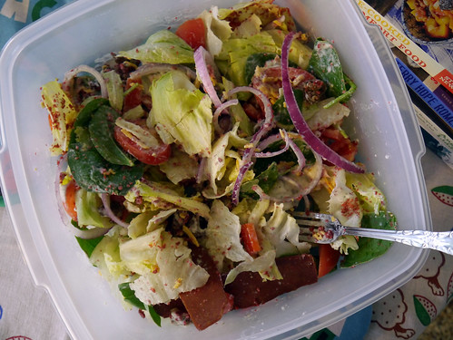Carbs & Rec - Double Bacon Cheeseburger Salad (0013)