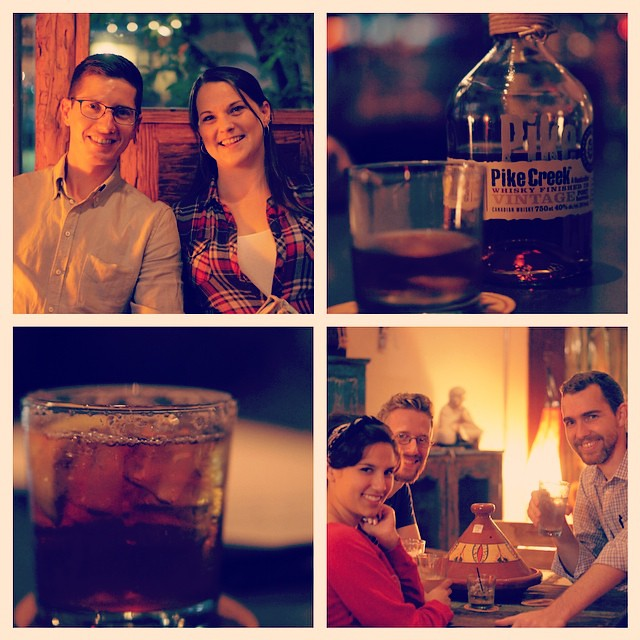 Our first Whiskey Wednesday! Happy Birthday Justin :) #sanfordlife #sanford365