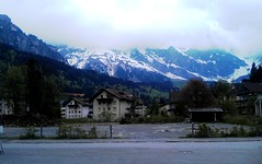 A cold day in Engelberg