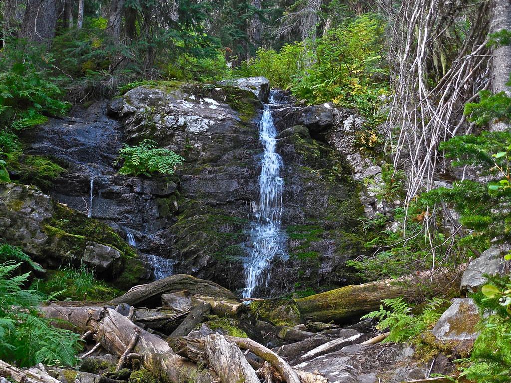 Revett Lake Trail on Montana - Idaho border near Thompson Pass