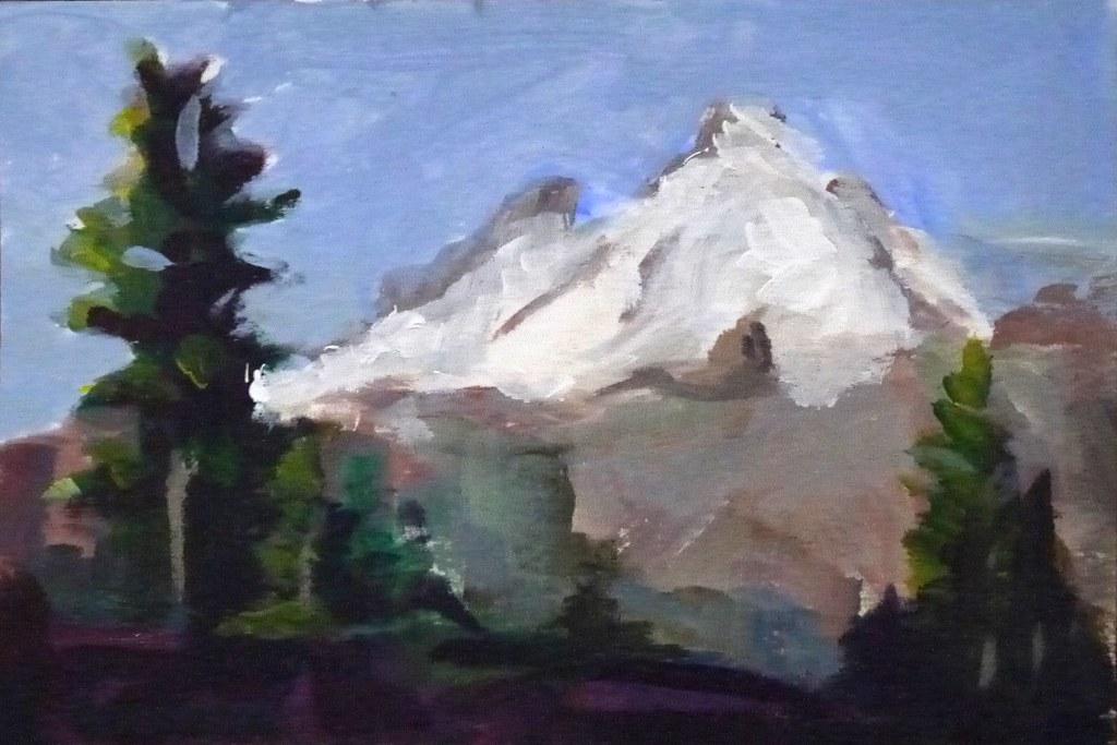 Mt Baker Postcard