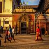 Dusk in Bhaktapur's Durbar Square Kathmandu