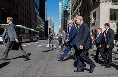 U.S. Secretary of State John Kerry and Special Presidential Envoy for the Global Coalition to Counter ISIL John Allen cross Lexington Avenue in New York City on September 23, 2014, between meetings at the United Nations General Assembly. [State Department photo/ Public Domain]