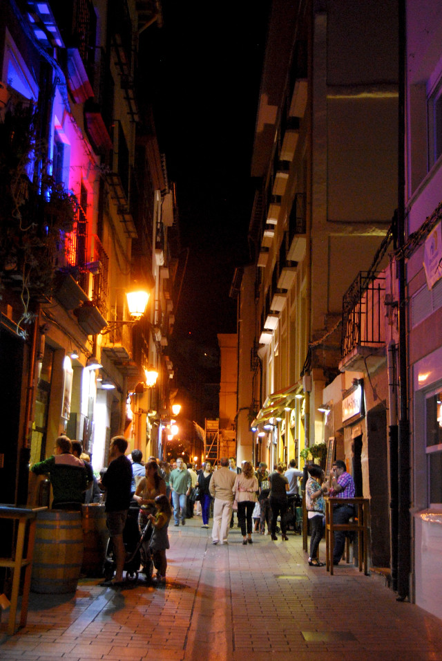 Evening in Logroño City, Rioja