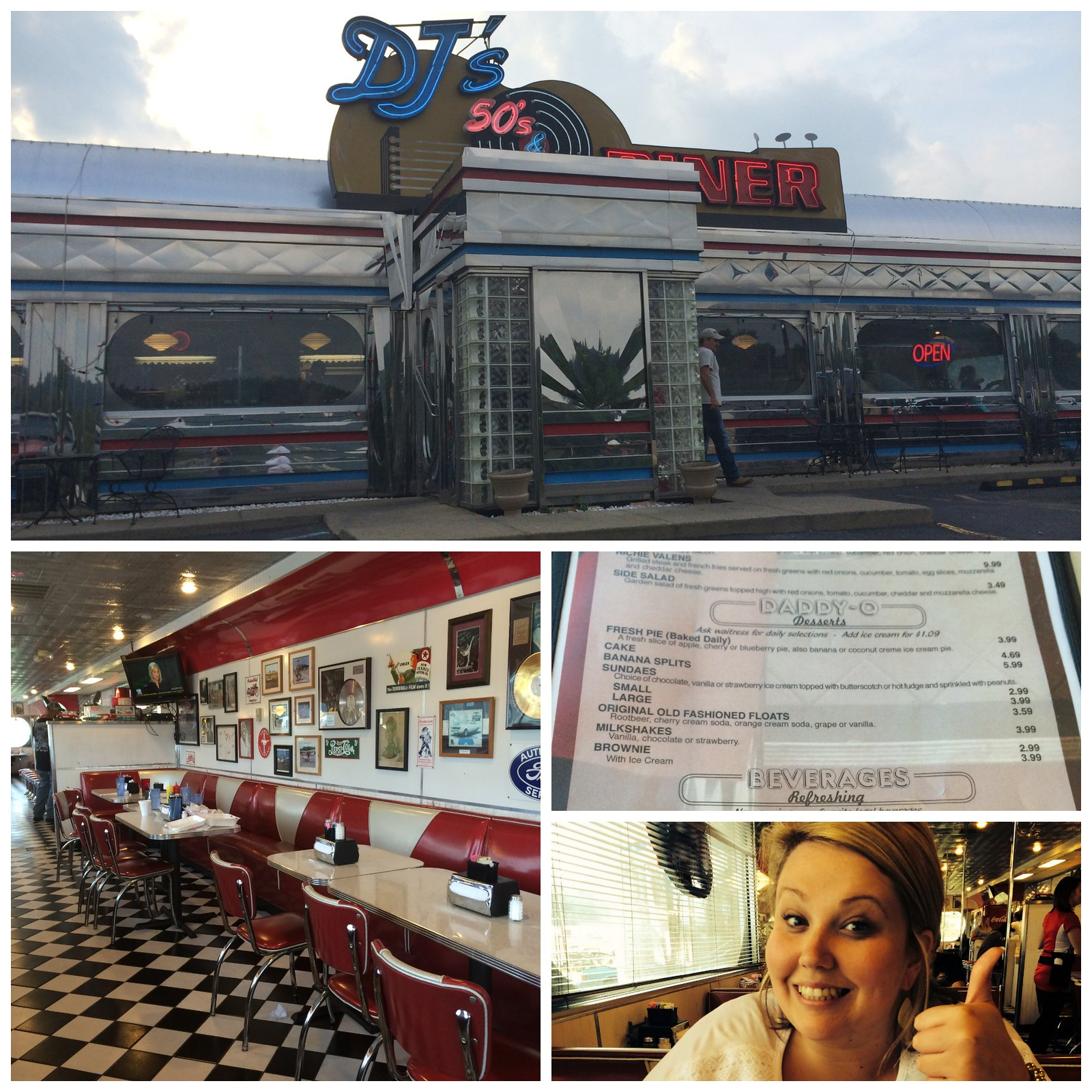 DJs Diner Collage