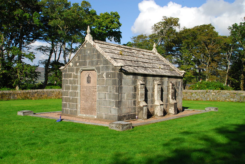 MacQuarie Mausoleum,Isle of Mull