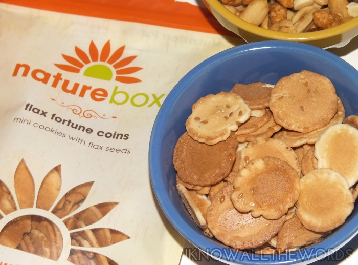 nature box canada september- flax fortune coins