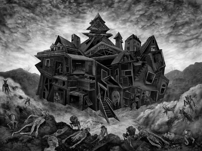Aeron Alfrey - Madhouse Cover Art