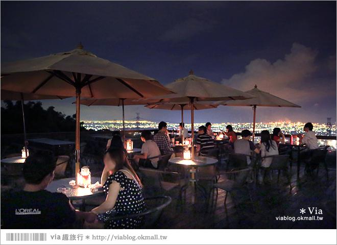 【台中夜景餐廳推薦】台中龍貓夜景~MITAKA 3e Cafe◎大推薦的台中約會地點♥ 55