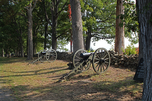 confederate guns on confederate ave