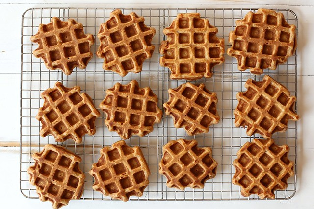 Vanilla Bean Sweet Potato Waffles